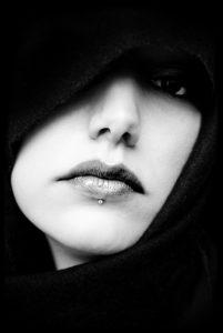 woman mouth